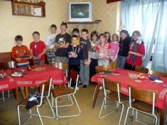 Děti, které sezůčastnili turnaje