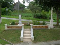 Památník věnovaný památce padlých vojínů zRadotic